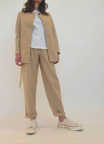 bottega chilometri zero 4.10 calendario jap woman pants DD20121