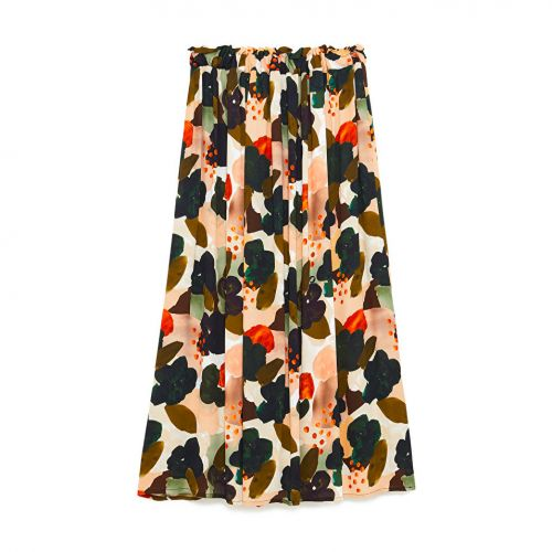 ottod'ame lunga a pieghe woman skirt DN5710