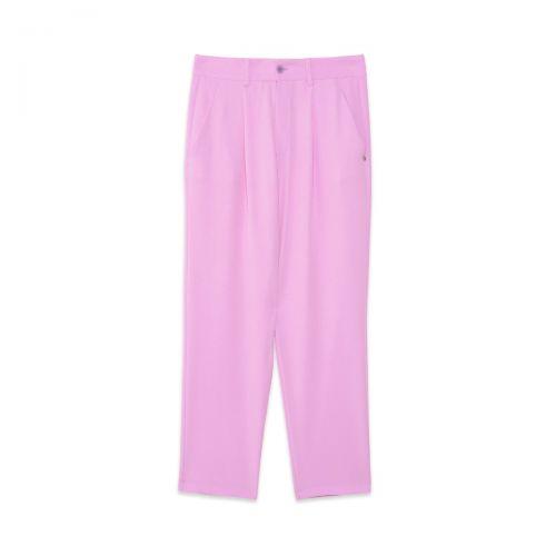 ottod'ame pantalone cropped femme pantalon ep8847