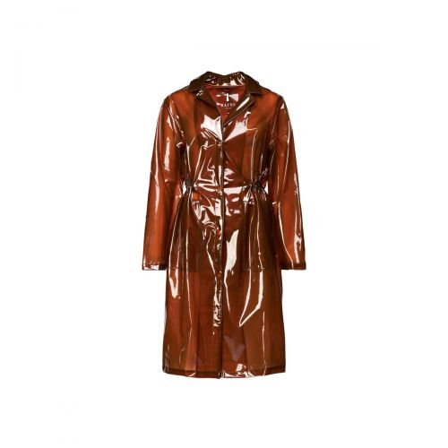 rains transparent string overcoat mujer ropa de calle 1839
