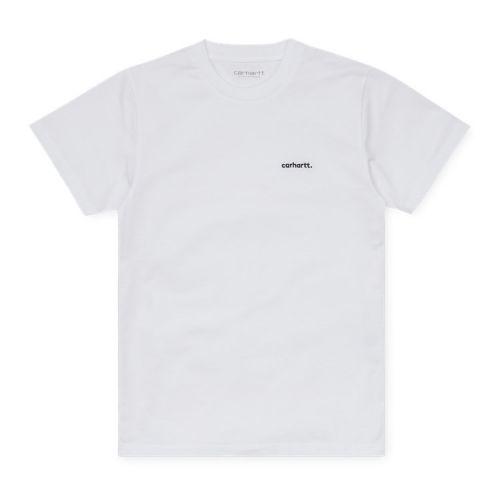 carhartt typeface frau t-shirt I028443
