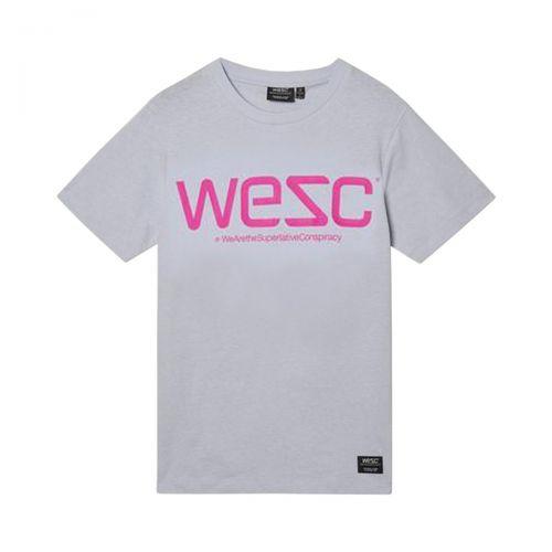 wesc max wesc logo s/s unisexe t-shirt L1122759