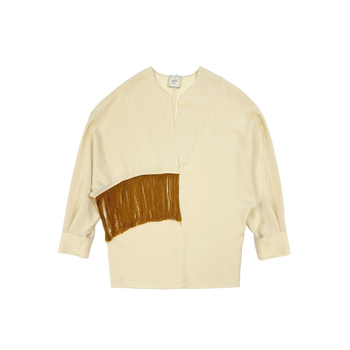 alysi crepe donna blusa 101242