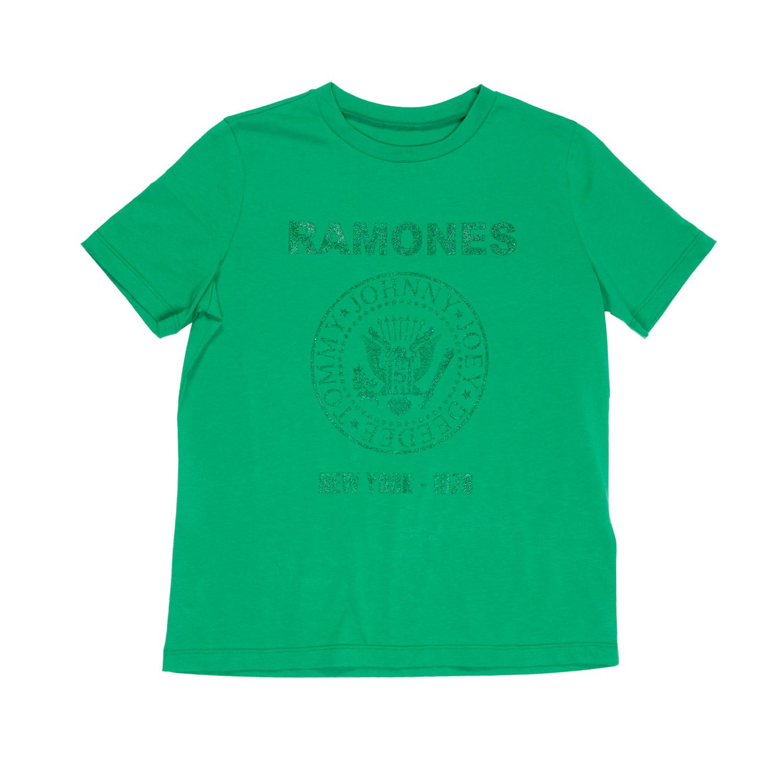 department 5 slim you ramones glitter femme t-shirt D19J02
