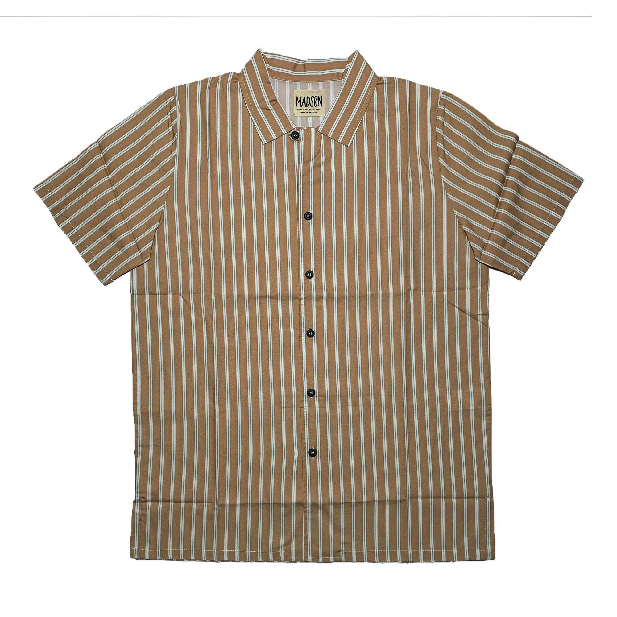 bottega chilometri zero m/c  fantasia stampata hombre camisa DU20049