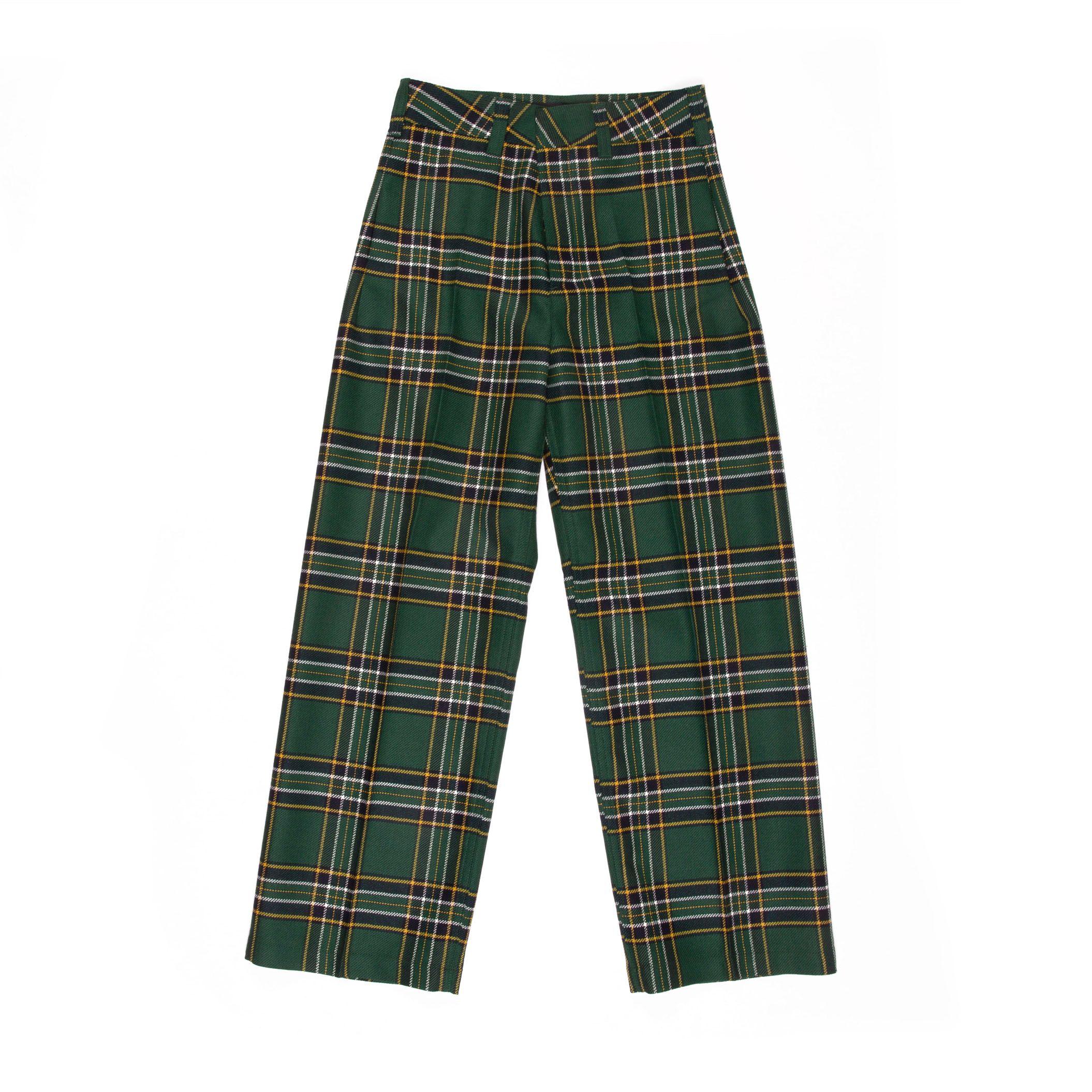 department 5 due tartan mujer pantalones D19P51