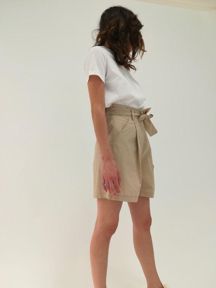 ottod'ame short popeline femme pantalon court EP8518